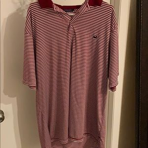 3 button polo. Very comfortable, every day shirt